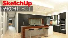 Sketchup Architect How to design a Kitchen